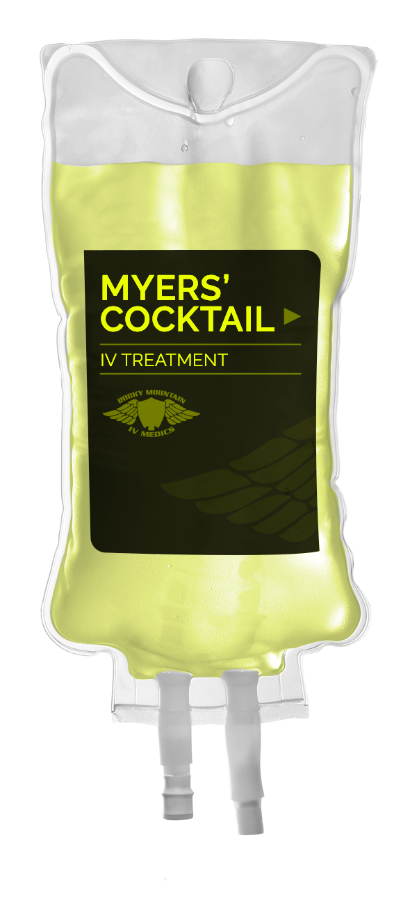 myers cocktail iv therapy bag